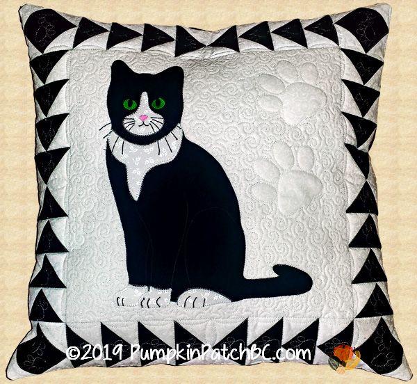 Tuxedo Cat Pillow